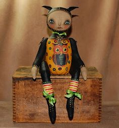 OWL doll for Halloween collectors! available now