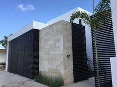 Imagen relacionada - New Deko Sites Modern Contemporary Homes, Contemporary Architecture, Architecture Details, Decoration Entree, Boundary Walls, Villa, Porche, Concrete Design, Garden Landscape Design