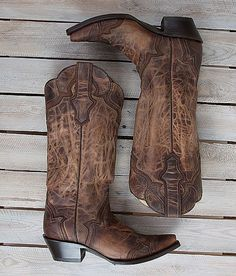 Corral Distressed Cowboy Boot