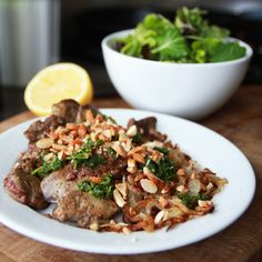 Chicken Livers and Onions