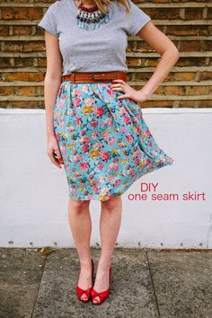 DIY - one seam skirt Photo @siobhan_watts