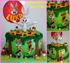 BUGS BUNNY CAKE - Cake by stefanelli torte