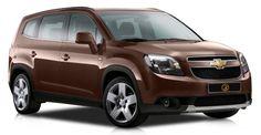 Chevrolet Orlando Коричневый