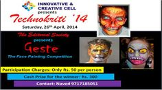 Face Painting Competition @ Technokriti'14