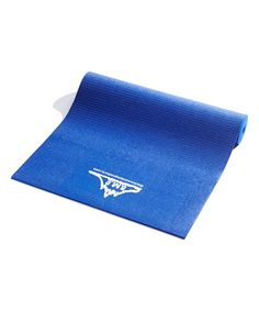 Blue Eco Friendly Yoga Exercise Mat