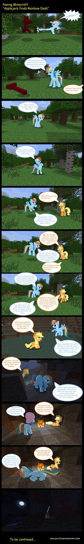 Rainbow Dash in Minecraft by deilan12.deviantart.com on @deviantART