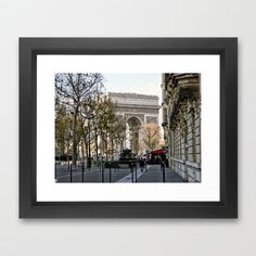 Paris Framed Art Print by Lynn Bolt - $36.00