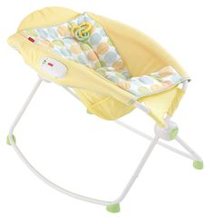 Amazon.com : Fisher-Price Newborn Rock n' Play Sleeper, Yellow : Infant Bouncers And Rockers : Baby