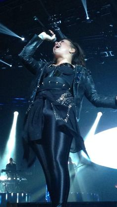 Demi Lovato performing in Baltimore - DEMI World Tour Sept. 6th