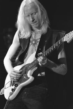 Johnny Winter Fine Art Print from Overton Park Shell (Memphis, TN)on 1969