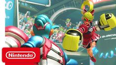 ARMS - Nintendo Switch Presentation 2017 Trailer https://m.youtube.com/watch?v=k7s3UB_8dFM