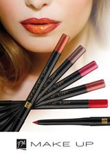 FM Group Lip Liners: they stress the contour of the lips with remarkable precision revealing their natural beauty. They are also waterproof and perfectly match our lipsticks. Twist to open, twist to close and comes with a built in sharpener.