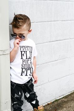 Pretty fly for a small fry / trendy cool boy clothes / baby & toddler fashion