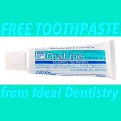 FREE Travel Sized Toothpaste from Ideal Dentistry Located in Tampa, Florida - STACKING COINS SAVING MONEY [SCSM]
