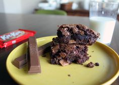 Kit Kat Brownies, NO WAY!!! :)