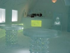Ice Bar at the ICEHOTEL, Sweden