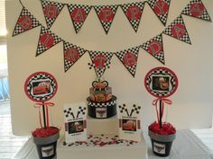 Disney Cars Birthday Package by KeepsakeToppers on Etsy, $70.00