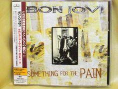 CD/Japan- BON JOVI Something For The Pain +3 Live + secret-trk EP w/OBI RARE #HardRock