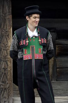 FolkCostume&Embroidery: Costume and Embroidery of Setesdal, East Agder, Norway, part 2 men Rare Clothing, Folk Clothing, Types Of Jackets, Jackets For Women, Clothes For Women, Norwegian People, Kristiansand, Festival Dress, Folk Costume