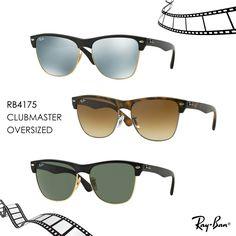 RAY-BAN RB4175 Clubmaster Oversized in 6 diversi colori,  Li trovi su Viegi Online Store!  #occhialidasole #ituoiocchi #ilmiolook