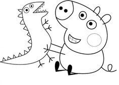 Dibujo para colorear de Peppa Pig (nº 10)