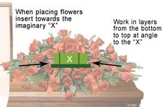 How to arrange a casket spray