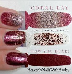 Colorful Nail Designs, Cute Nail Designs, Fingernail Designs, Colorful Nails, Sparkle Nails, Pink Nails, Nail Bling, La Nails, Fancy Nails