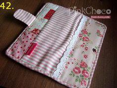 pinkchoco款长钱包的制作方法 - salima - Álbumes web de Picasa