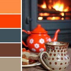 Palettes de couleurs mariant des nuances sombres mais harmonieuses