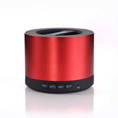 Spectacular N Mini Wireless Stereo Bluetooth audio Speaker Red http gotclicks