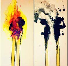 Beautiful art, credit to artist Kunst Inspo, Art Inspo, Arte Obscura, Wow Art, Art Design, Banksy, Cool Drawings, Art Reference, Amazing Art