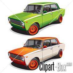 CLIPART LADA 1300 RALLY