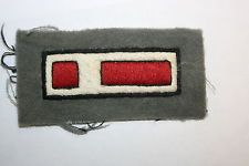 WW1 BRITISH FORMATION DIVISIONAL SIGN PATCH 17TH INFANTRY DIVISION