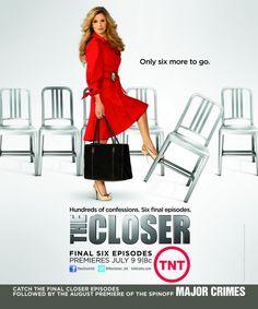 The Closer, Kyra Sedgwick, Full Page Promo Ad Closer, Kyra Sedgwick, Tv Moms, Brenda Lee, Printed Portfolio, Major Crimes, Tv Land, Me Tv, Work Wardrobe