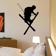 Wall Decal Vinyl Sticker Sport Gym Skier Skiing Decor Sb1041 ElegantWallDecals http://www.amazon.com/dp/B016YAT758/ref=cm_sw_r_pi_dp_oj6lwb07MFPHN
