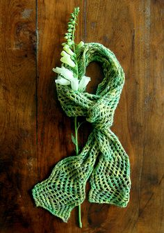 Colorful Crafting with Jen: Summer Shimmer Scarf by the purl bee, via Flickr