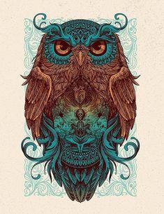 Owl – Graffiti World Buho Tattoo, Owl Artwork, Owl Tattoo Design, Owl Pictures, Beautiful Owl, Ink Art, Body Art Tattoos, Owl Tattoos, Fantasy Art