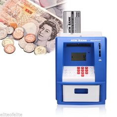 Atm #money bank cash machine box coin note #counter #saving #money for kids childr,  View more on the LINK: http://www.zeppy.io/product/gb/2/181969647025/