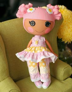 Lalaloopsy Doll Clothes Easter made to match Little Noel Easter Outfit.