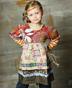 Matilda Jane children's clothing line/available through trunk show.  I'll be having a show ASAP!!!