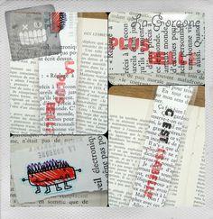La plus belle c'est Isabelle Mini marque page de la Gorgone. SNIF Collection monstre. : Marque-pages par la-gorgone