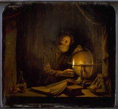 Gerrit Dou, The Astronomer, 1650