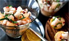 Razor Clam Ceviche  I may try this sometime soon.
