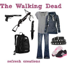 TWD Outfit, created by sofresh-creations on Polyvore  @David Phillipo