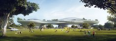 MAD architects draws up proposals for lucas museum of narrative art's california home
