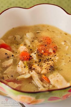 Scrumptious- Turkey Dumpling-Soup....Left over Turkey Idea!
