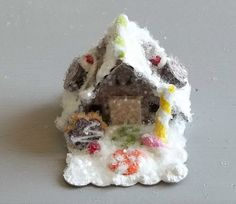 Vintage Putz Style Tiny Miniature by TheUglyDuckling1962 on Etsy, $14.00