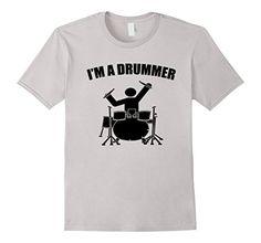 Mens I'M A DRUMMER TEE SHIRT  2XL Silver TRI STAR TEE SHIRTS https://www.amazon.com/dp/B073T2QMMX/ref=cm_sw_r_pi_dp_x_HDsyzbPTYGGHX