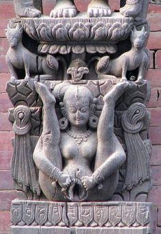 Goddess Lajja Gauri #6