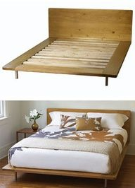 DECOR All Out for Modern Organic Bedding fabulously green - Stylehive Custom Furniture, Bedroom Furniture, Home Furniture, Furniture Design, Apartment Design, Apartment Living, Cama Queen Size, Bed Design, House Design